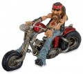 Lustige Easy Rider Fun-Dekofigur Biker Billy